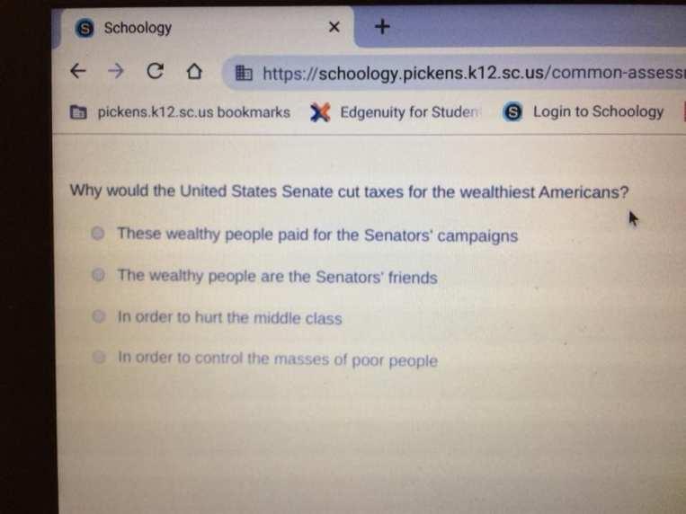 Democrat quiz